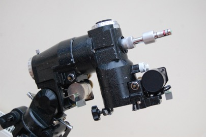 laser polar alignment: assembly complete