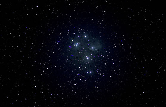 The Pleiades open cluster