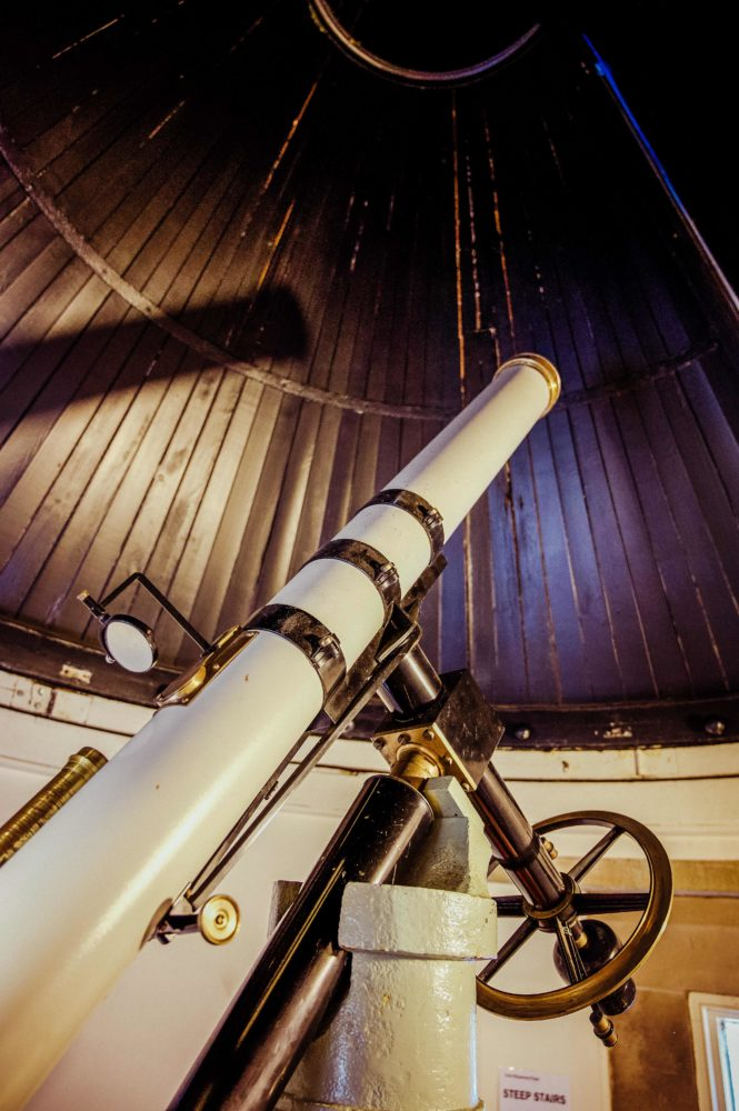 The Thomas Cooke refractory telescope in York Observatory