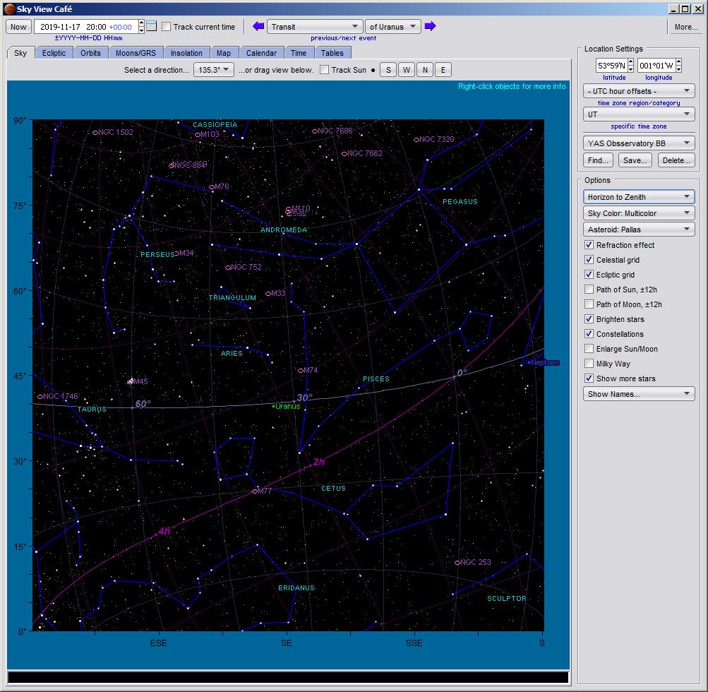 How to find Uranus in the November 2019 night sky