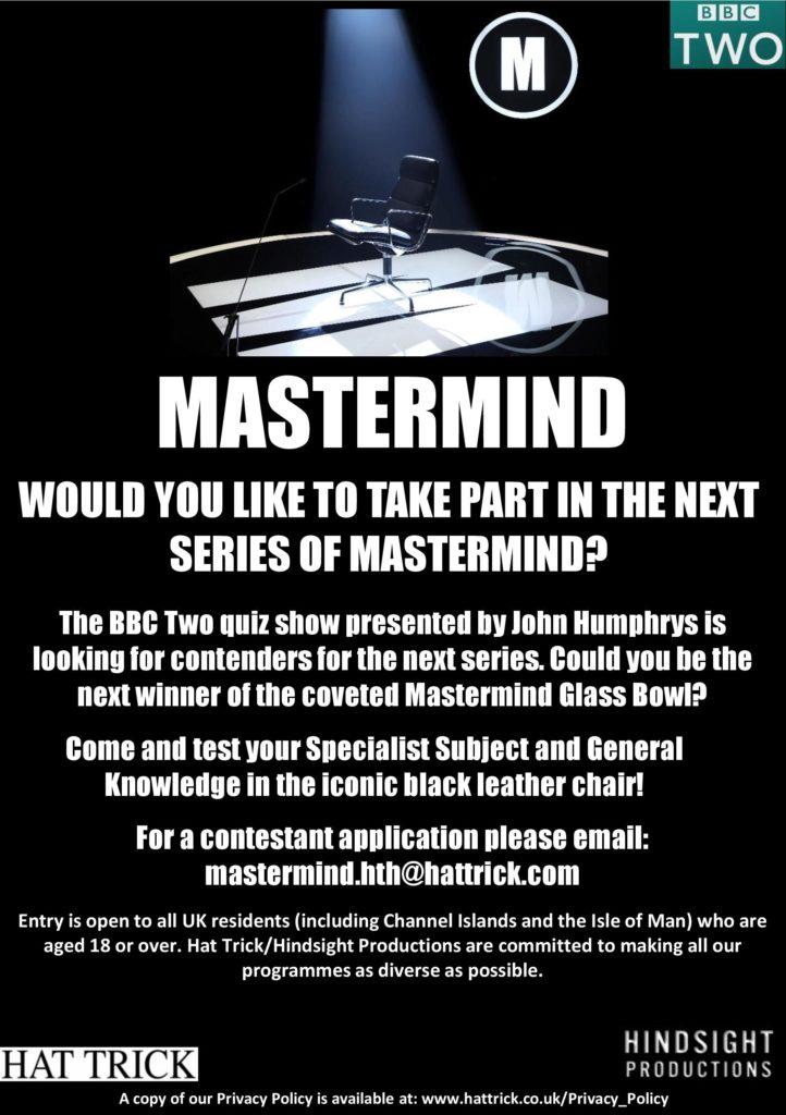 Mastermind flyer
