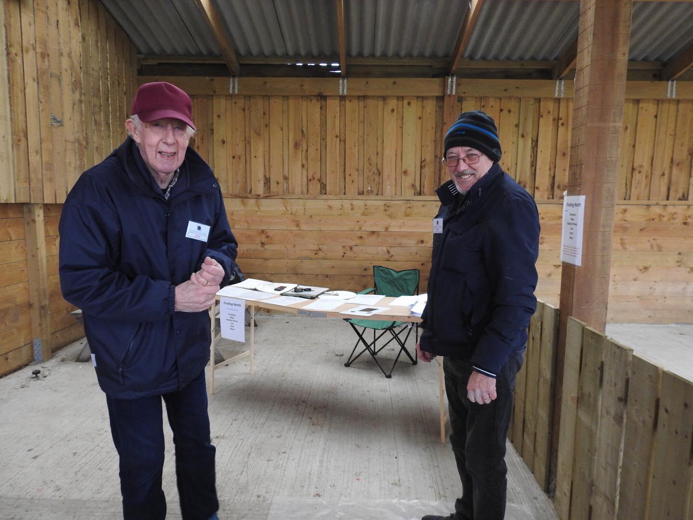 John Rowland and Rob Maclagan, navigation experts