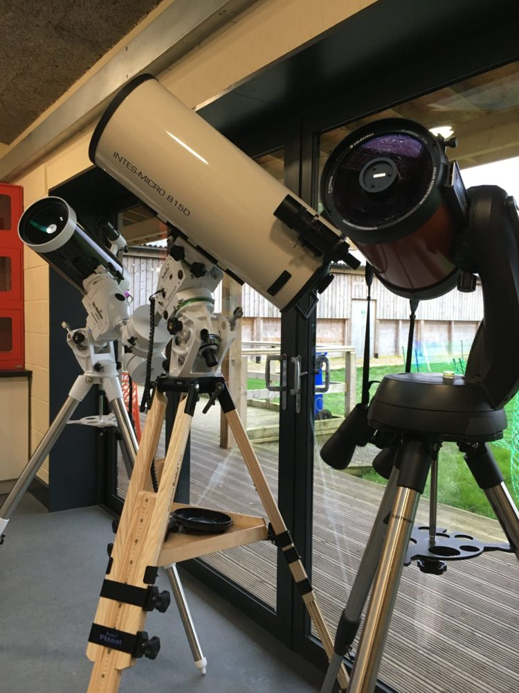 York Residents' Weekend - scopes on view