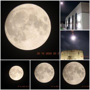 Full Moon on 30/10/2020