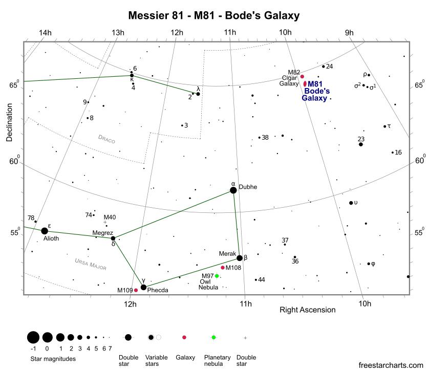 Messier 81 - M81 - Bode's Galaxy