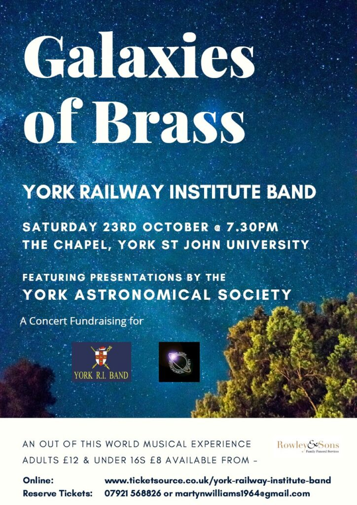 Galaxies of Brass - Flyer